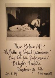 The ballad di nan goldin autobiografia per immagini il tuo ghostwriter - Nan goldin il giardino del diavolo ...